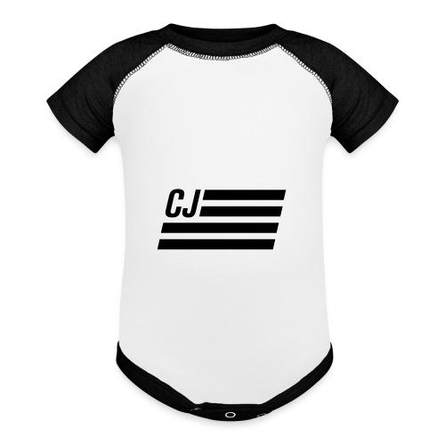 CJ flag - Contrast Baby Bodysuit