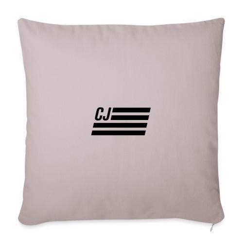 CJ flag - Throw Pillow Cover