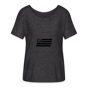 CJ flag - Women's Flowy T-Shirt