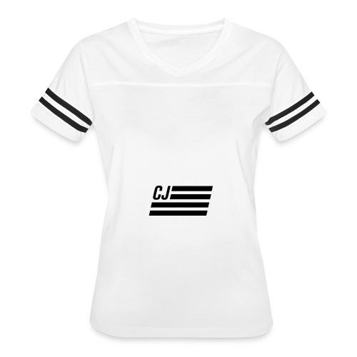 CJ flag - Women's Vintage Sport T-Shirt