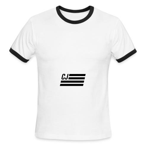 CJ flag - Men's Ringer T-Shirt