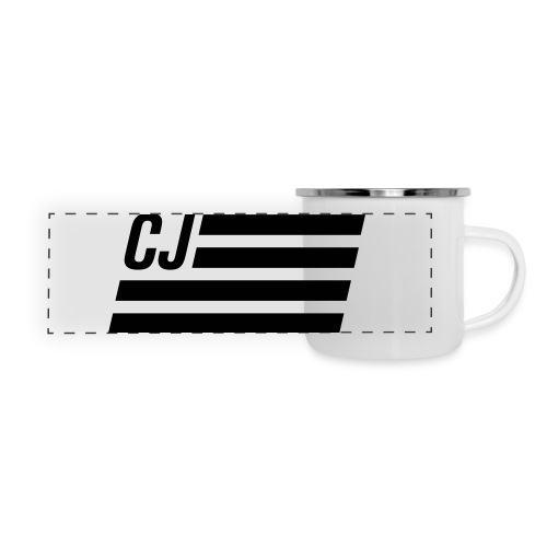 CJ flag - Panoramic Camper Mug