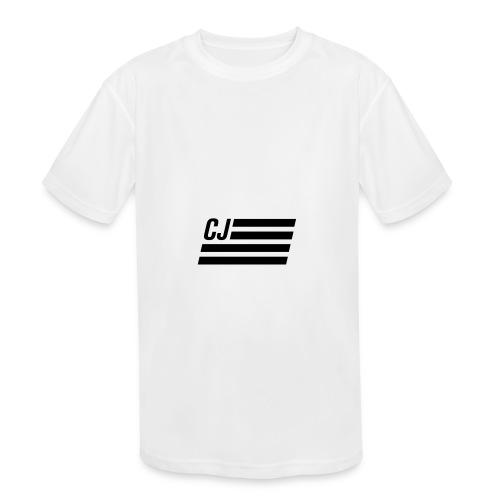 CJ flag - Kids' Moisture Wicking Performance T-Shirt
