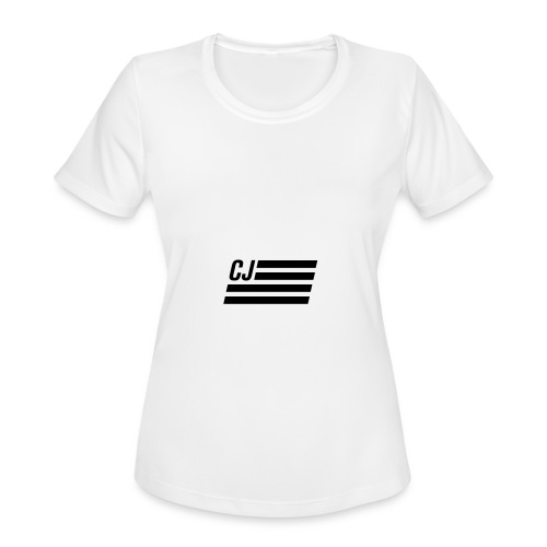 CJ flag - Women's Moisture Wicking Performance T-Shirt