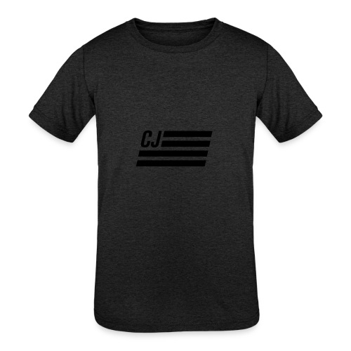 CJ flag - Kid's Tri-Blend T-Shirt