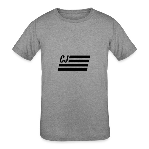 CJ flag - Kids' Tri-Blend T-Shirt