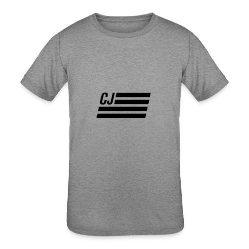 CJ flag - Kids' Tri-Blend T-Shirt