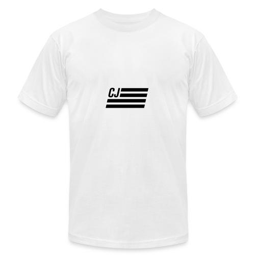 CJ flag - Men's Fine Jersey T-Shirt
