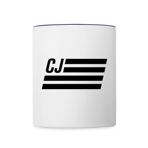 CJ flag - Contrast Coffee Mug