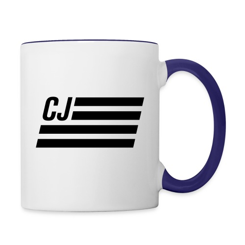 CJ flag - Contrast Coffee Mug