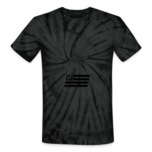 CJ flag - Unisex Tie Dye T-Shirt