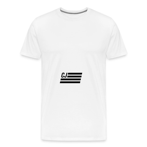 CJ flag - Men's Premium T-Shirt