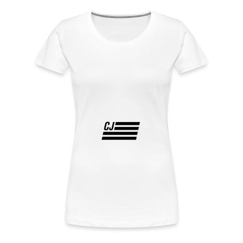 CJ flag - Women's Premium T-Shirt