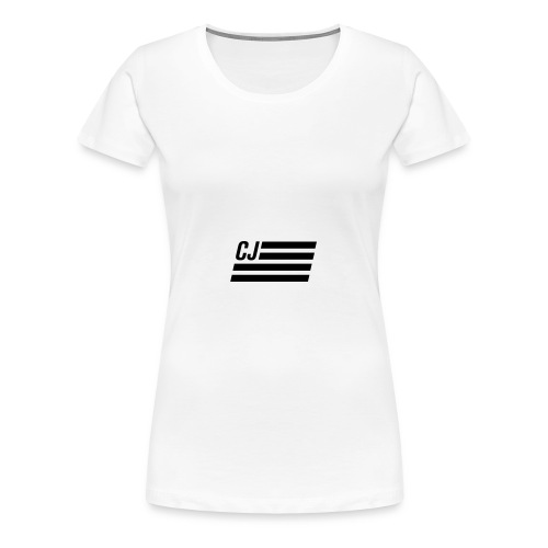 CJ flag - Women's Premium T-Shirt