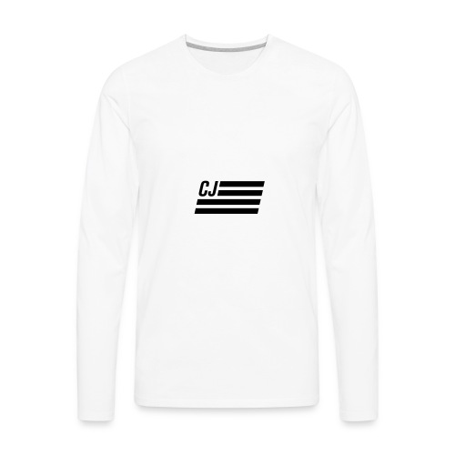 CJ flag - Men's Premium Long Sleeve T-Shirt