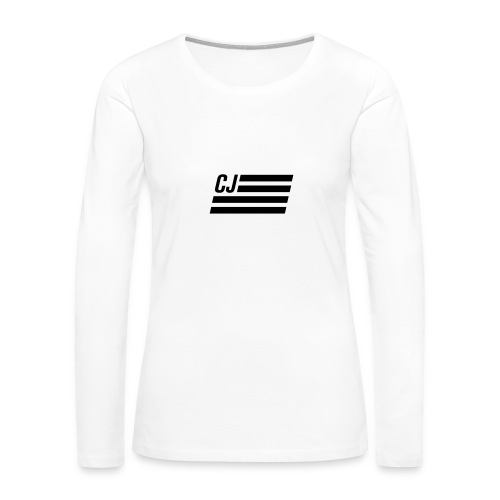 CJ flag - Women's Premium Long Sleeve T-Shirt