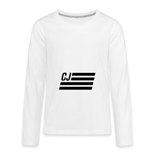 CJ flag - Kids' Premium Long Sleeve T-Shirt