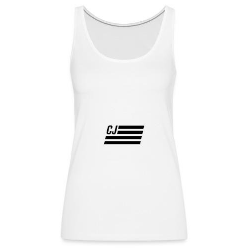 CJ flag - Women's Premium Tank Top