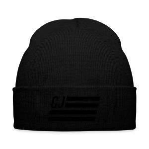 CJ flag - Knit Cap with Cuff Print