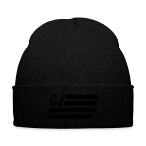 CJ flag - Knit Cap with Cuff Print
