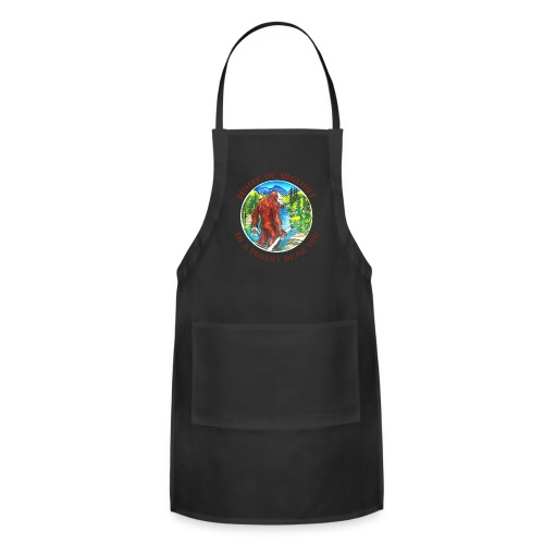 Home of Bigfoot Men's Big and Tall - Adjustable Apron