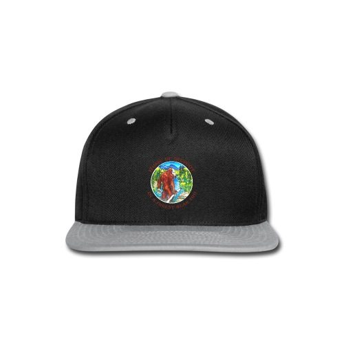 Home of Bigfoot Men's Big and Tall - Snap-back Baseball Cap