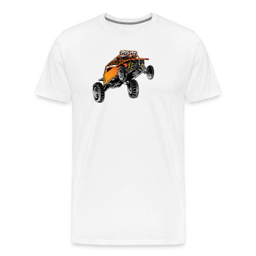 Dune Buggy Stunt - Men's Premium T-Shirt