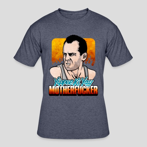 Die Hard: Yippee Ki Yay (Color) - Men's 50/50 T-Shirt