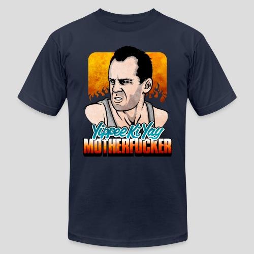 Die Hard: Yippee Ki Yay (Color) - Men's Fine Jersey T-Shirt