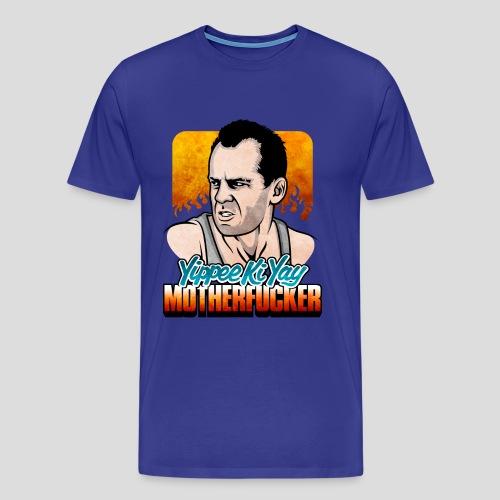 Die Hard: Yippee Ki Yay (Color) - Men's Premium T-Shirt