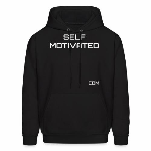 Self-Motivated Black Males Black Men's Slogan T-shirt Clothing by Stephanie Lahart. - Men's Hoodie