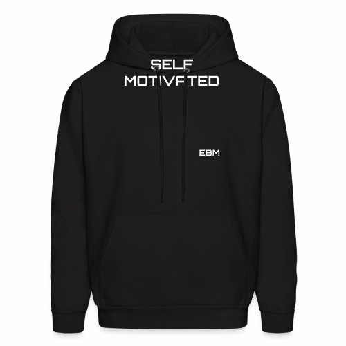 Self-Motivated Black Male Empowerment Slogan Quotes T-shirt Clothing by Stephanie Lahart   Empowered Black Male Shirts   Motivational Tees for African American Males - Men's Hoodie