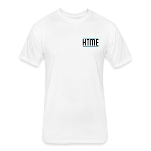 Subtle Logo T - Fitted Cotton/Poly T-Shirt by Next Level
