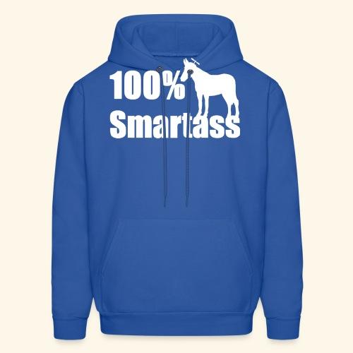 100% Smartass - Men's Hoodie