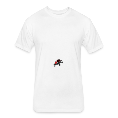 Dune Buggy Stunt - Fitted Cotton/Poly T-Shirt by Next Level