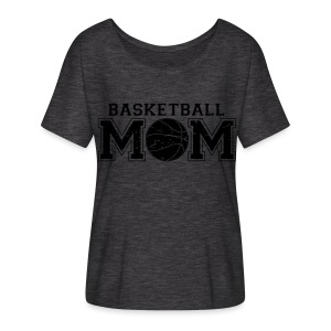 Basketball Mom game day shirt - Women's Flowy T-Shirt