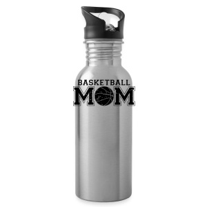 Basketball Mom game day shirt - Water Bottle