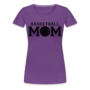 Basketball Mom game day shirt - Women's Premium T-Shirt
