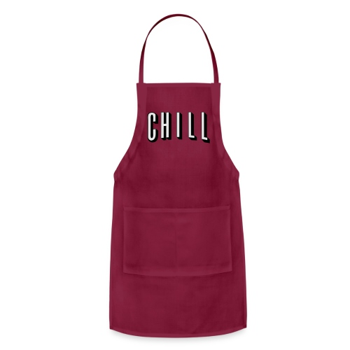NETFLIX AND CHILL - Adjustable Apron