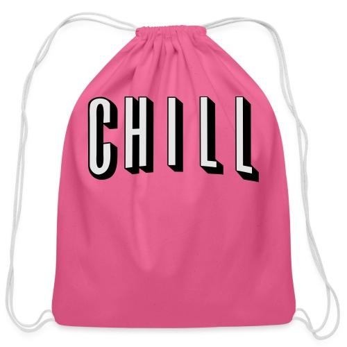 NETFLIX AND CHILL - Cotton Drawstring Bag