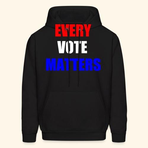 Every Vote Matters - Men's Hoodie