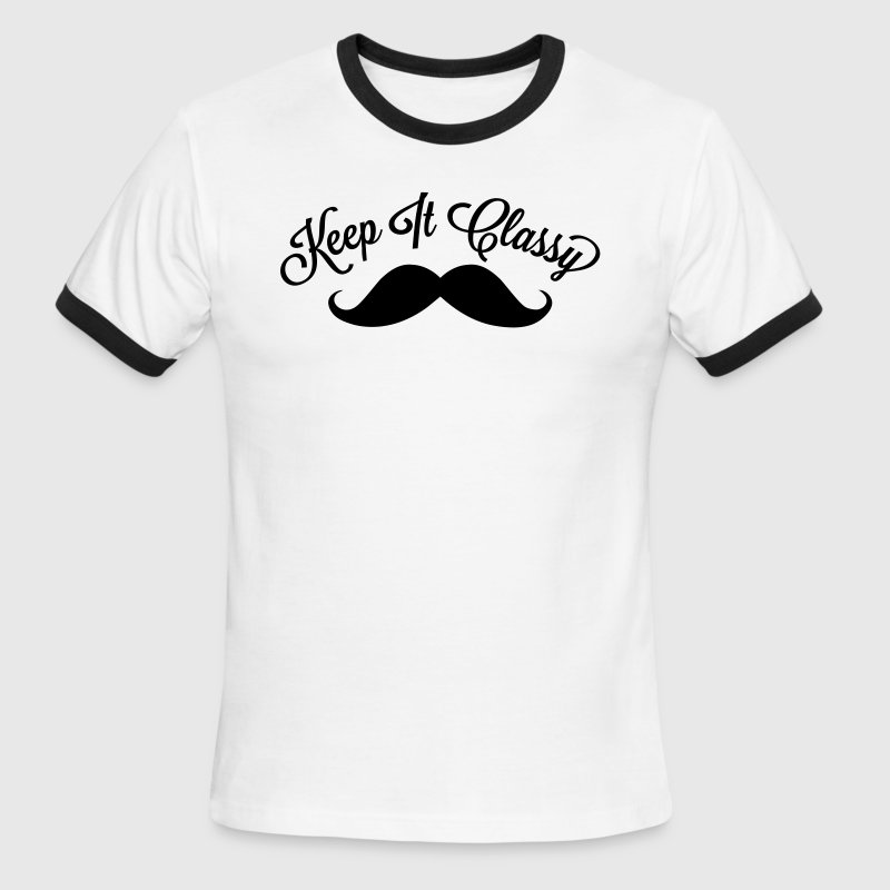 Keep It Classy - Men's Ringer T-Shirt