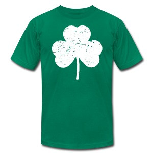 Irish Shamrock shirt - Men's Fine Jersey T-Shirt