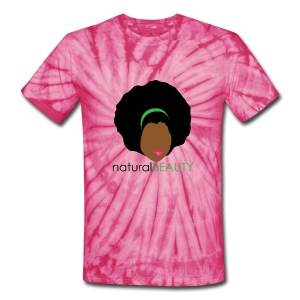 Natural Beauty - Green - Unisex Tie Dye T-Shirt