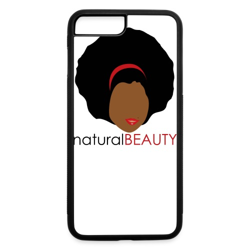Natural Beauty - Red - iPhone 7 Plus/8 Plus Rubber Case