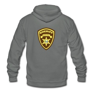Beacon Hills Sheriff - Travel Mug - Unisex Fleece Zip Hoodie by American Apparel