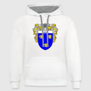 Caban Coat of Arms/Family Crest - Contrast Hoodie