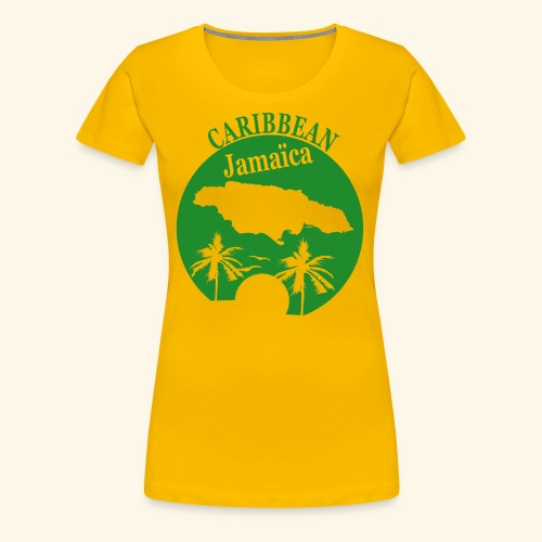 Jamaïca - Women's Premium T-Shirt