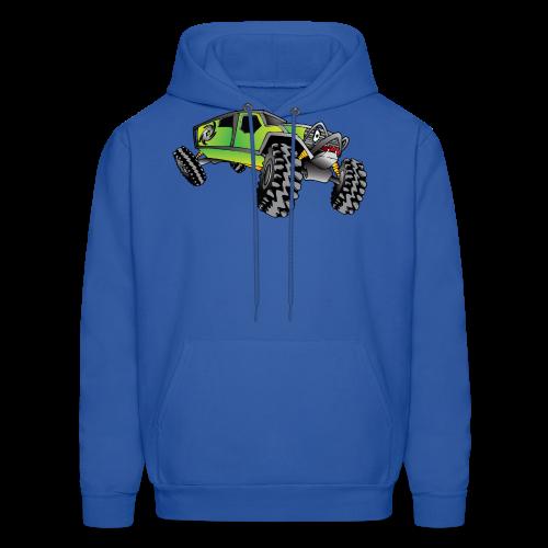 Cartoon Off-Road Monster Truck - Men's Hoodie