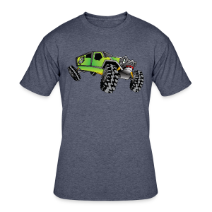 Cartoon Off-Road Monster Truck - Men's 50/50 T-Shirt